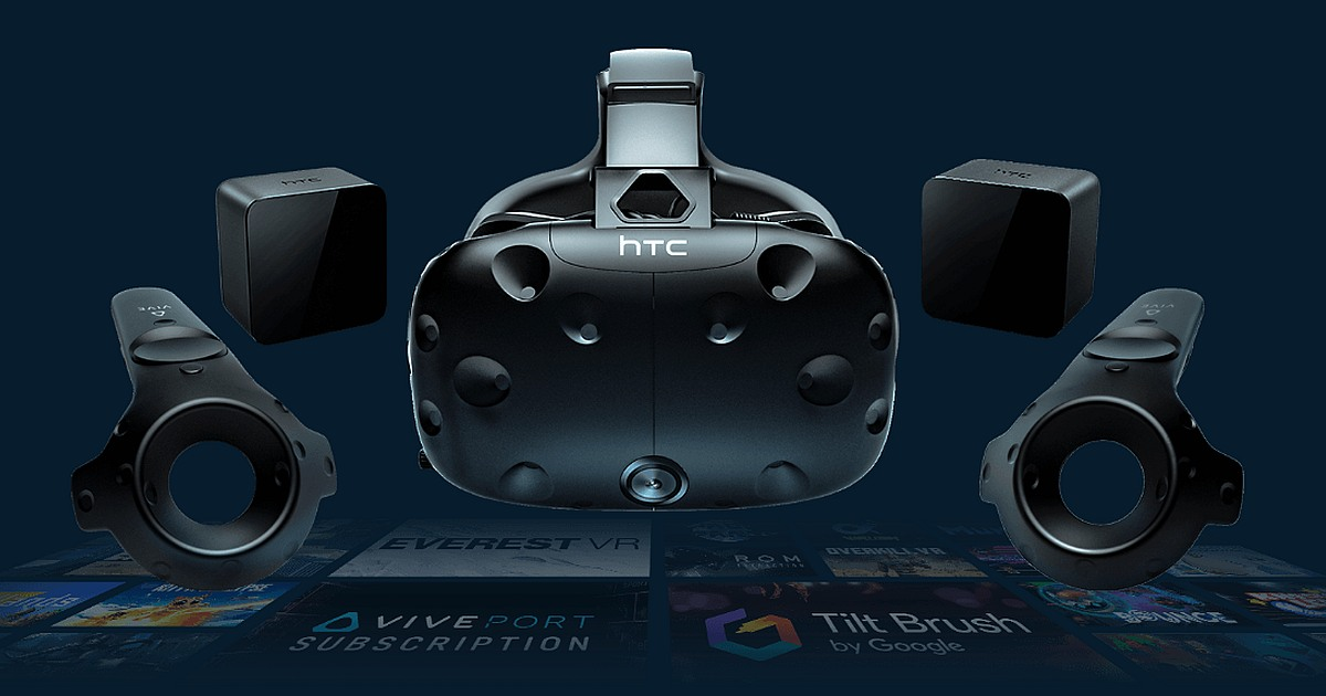 Explore the 2018 HTC VR Kit with the brand new Vive Pro 2.0